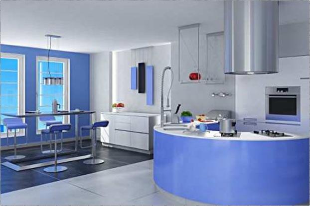 تصميم مطبخ دائري