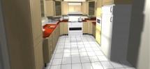 تصميم مطبخ بزوايا مختلفة